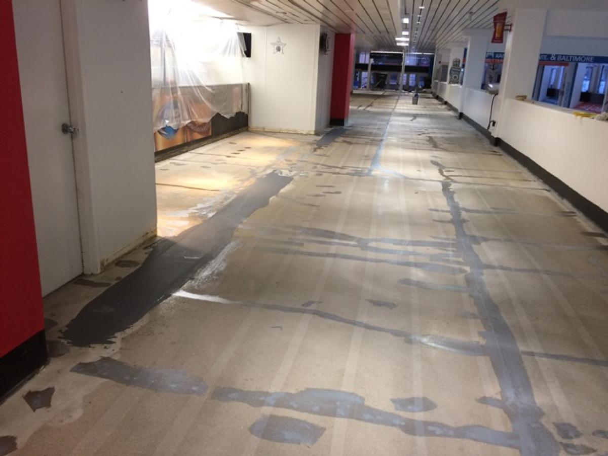 O.T. Neighoff flooring crews are skilled craftsmen in preparing concrete surfaces for coatings. The finished product will only be as good as the expertise practiced in surface preparation.