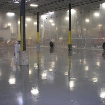Traffic Resistant Warehouse Flooring