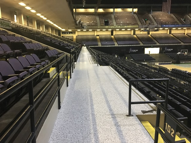 Floor Coating Project At Royal Farms Arena O T Neighoff