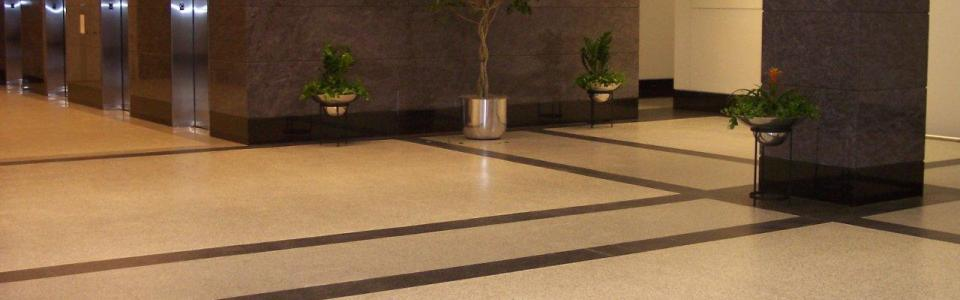 Resin floor