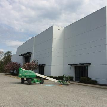 Exterior Coating of Large Commercial Complex