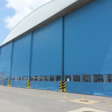 Hangar Doors after Coating